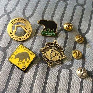 Yosemite Park Pin Set